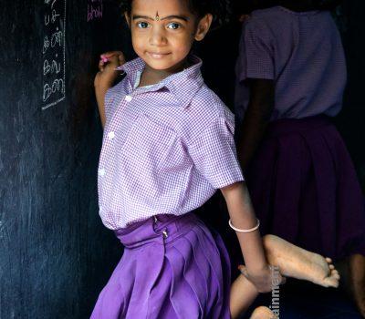 Schoolgirl – Pondicherry, India