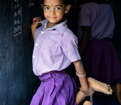 Schoolgirl – Pondicherry, India