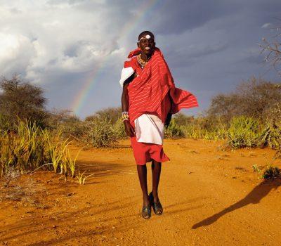 Jumping Maasai – Ewaso, Kenya